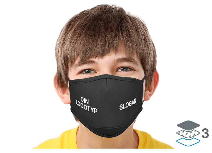 Junior - Anpassade återanvändbara ansiktsmasker