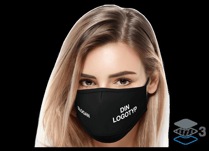 Sky - Anpassed ansiktsmask