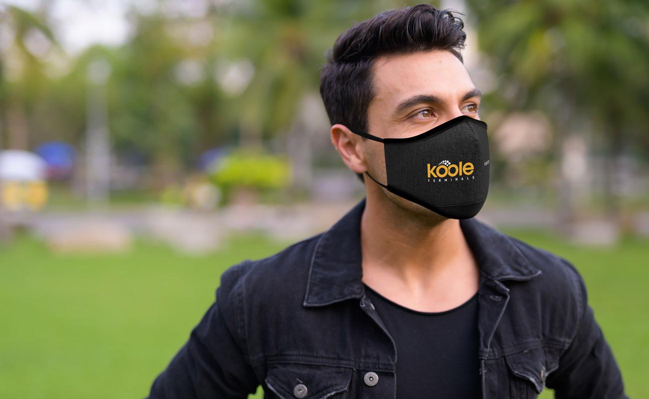 Denim - Anpassad Ansiktsmask