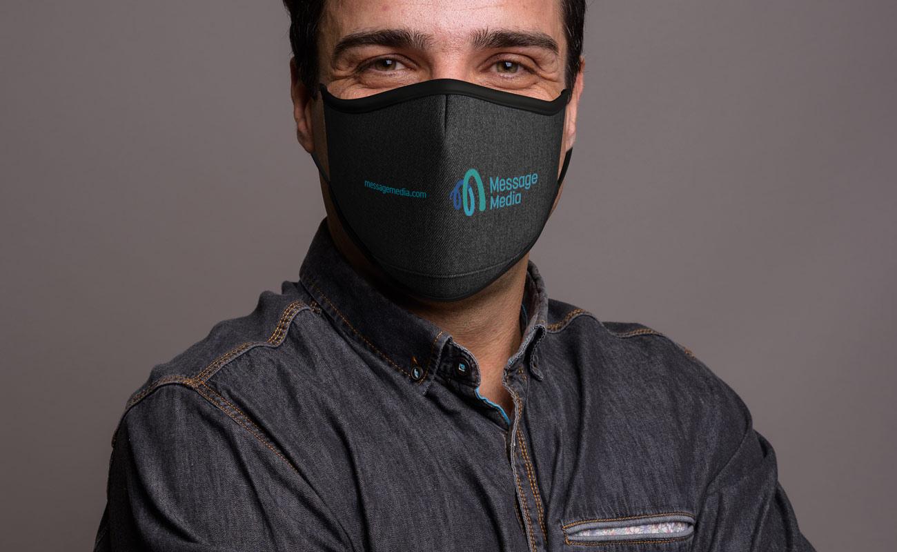 Denim - Anpassade skyddande ansiktsmasker