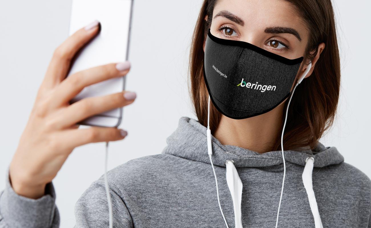 Denim - Anpassade återanvändbara ansiktsmasker