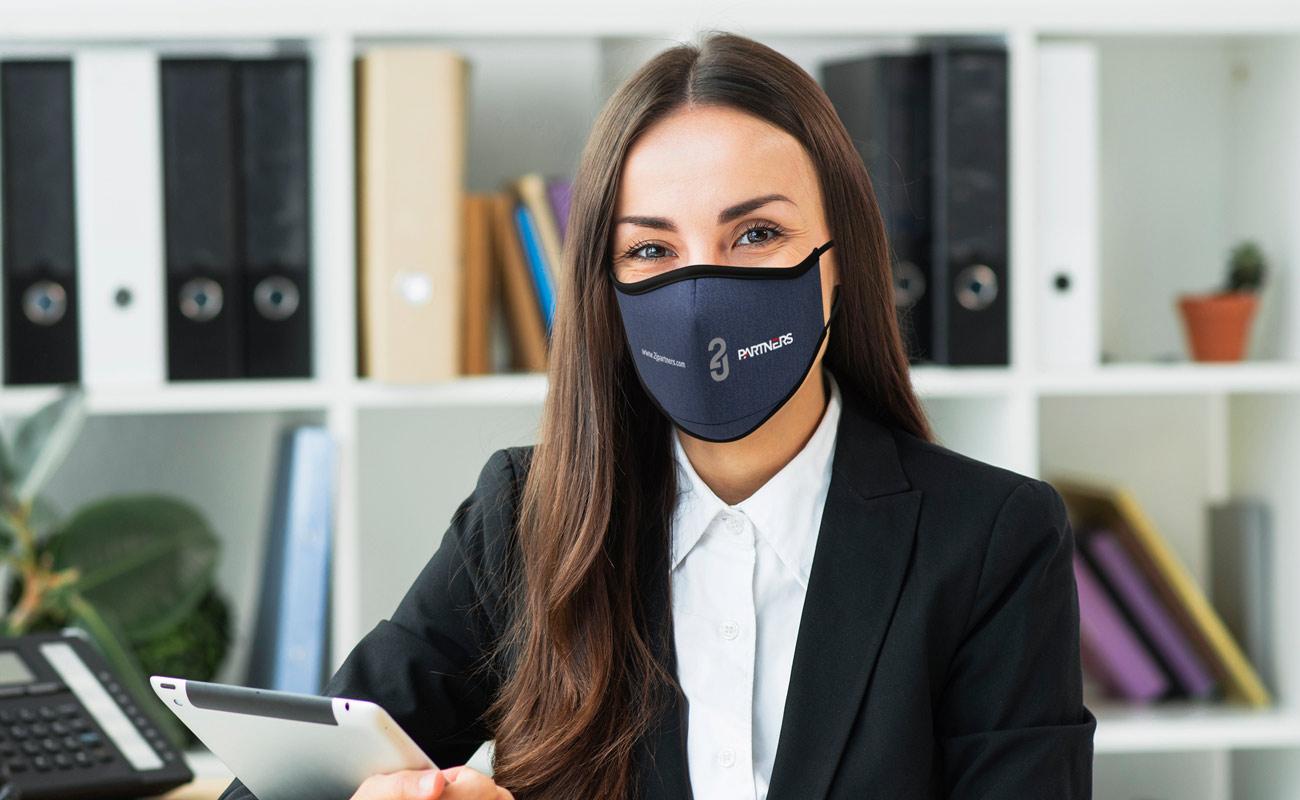 Denim - Tryckta ansiktsmasker
