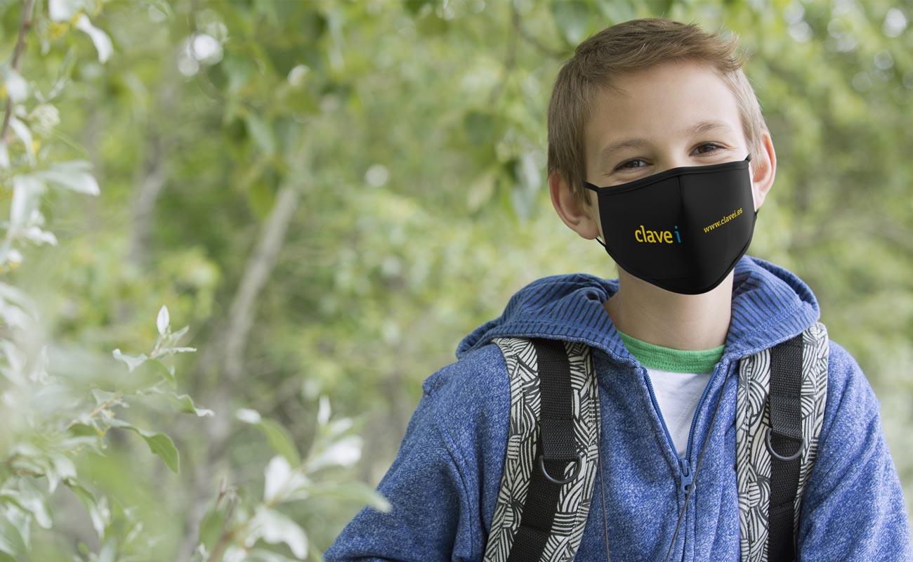 Junior - Anpassed ansiktsmask