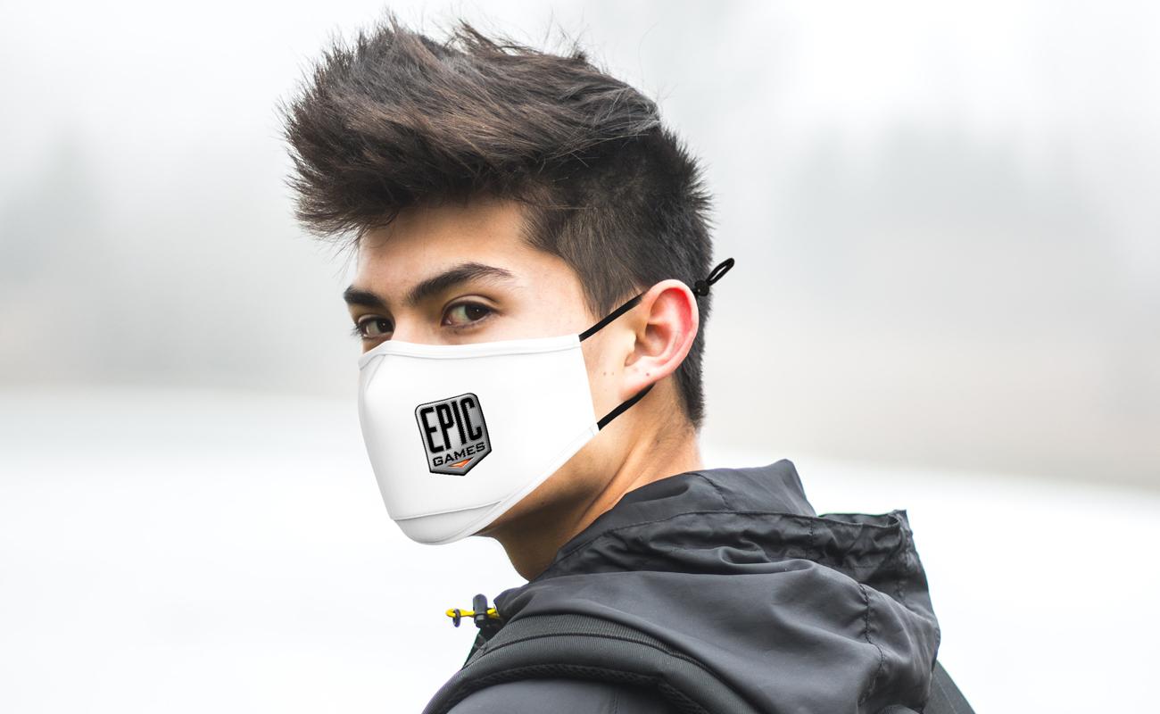 Junior - Ansiktsmasker med logotyp