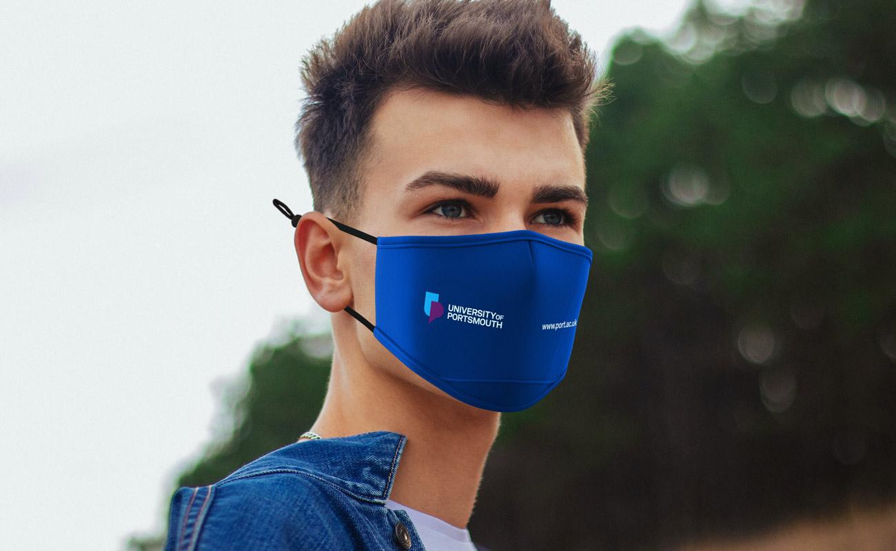 Junior - Tryckta ansiktsmasker