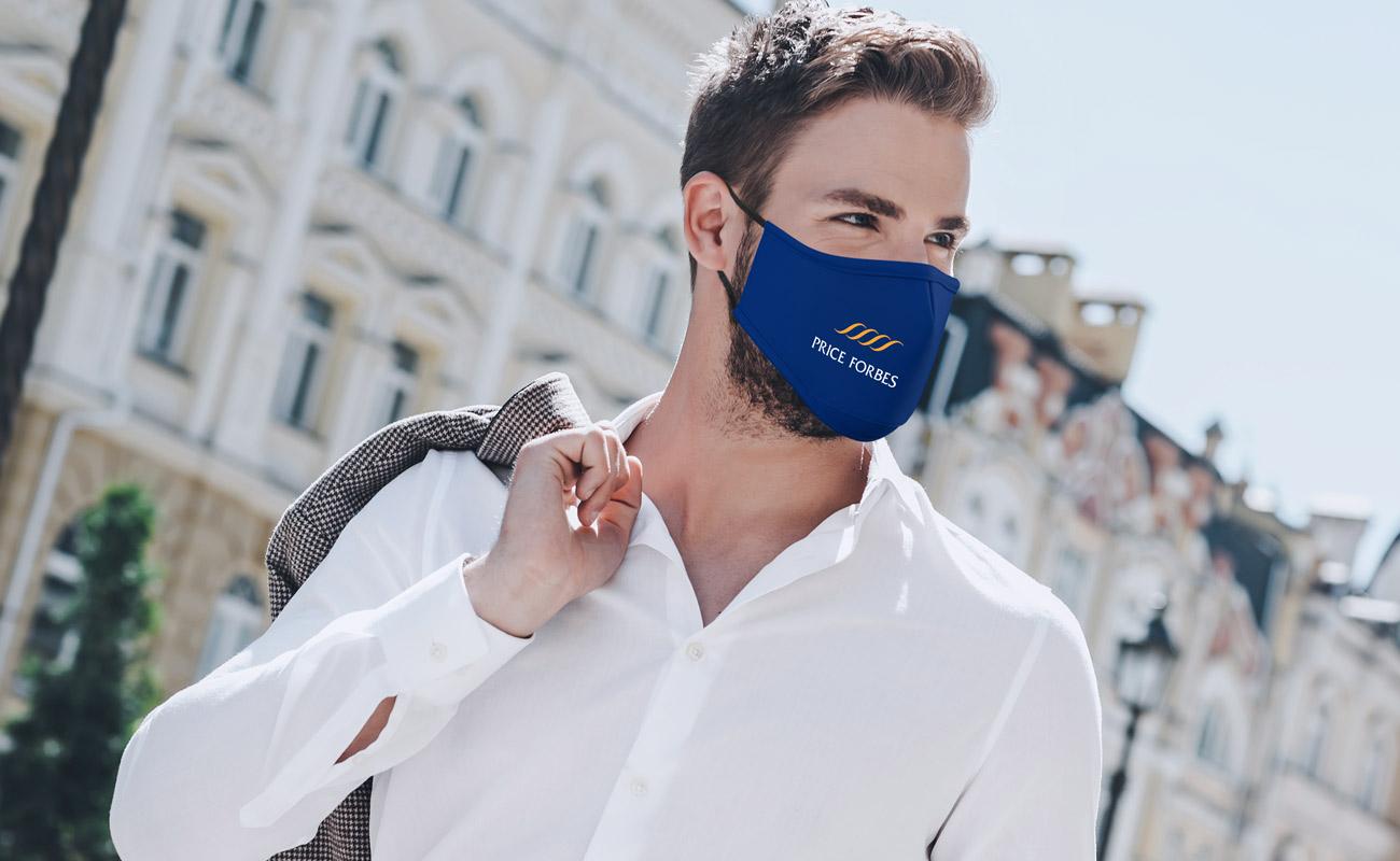 Sky - Anpassad Ansiktsmask
