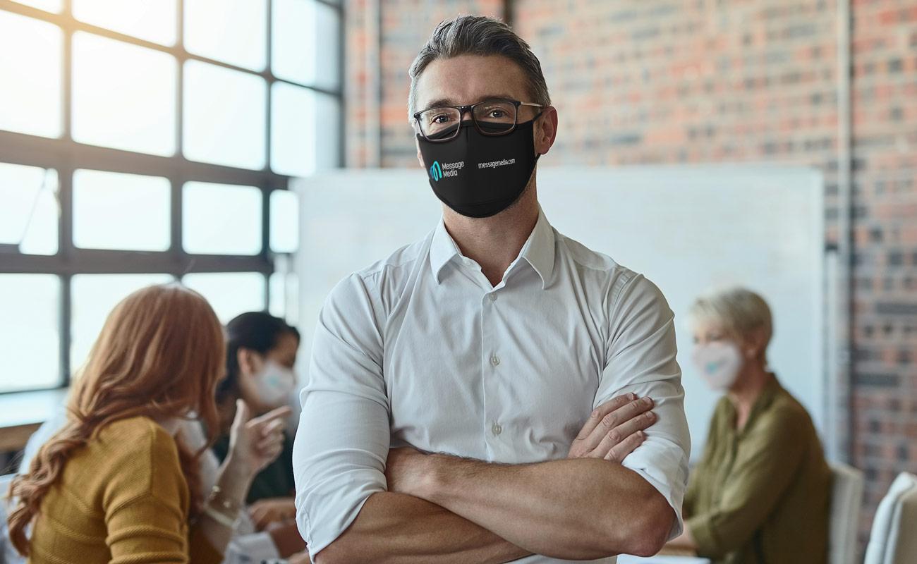 Sky - Tryckta ansiktsmasker