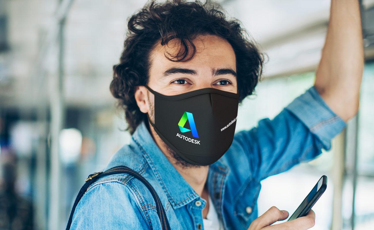 Sky iON - Anpassade återanvändbara ansiktsmasker